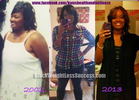 Stacey weight loss before and after