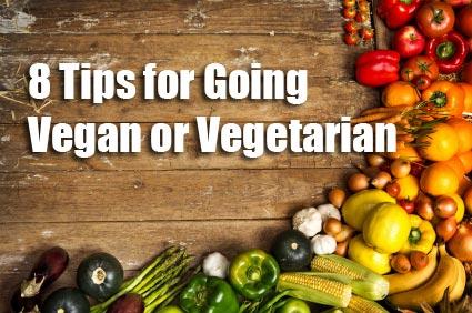 8 tips vegan vegetarian