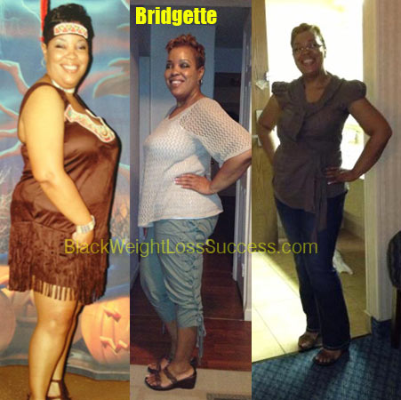 Bridgette weight loss story