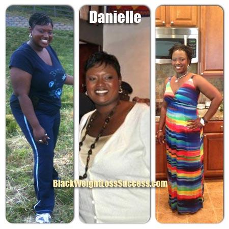 Danielle weight loss plan