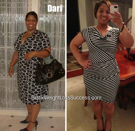 Dari weight loss before and after