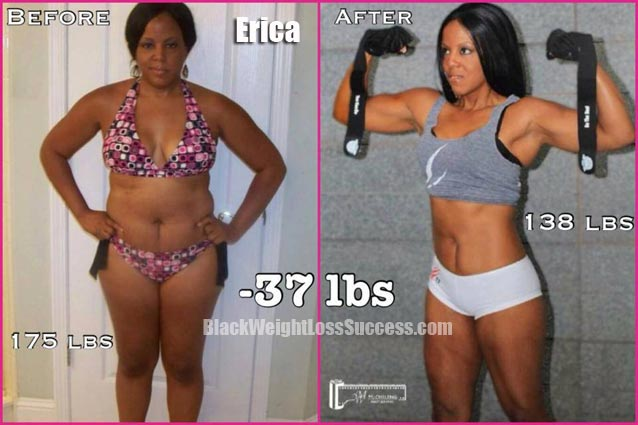 Erica weight loss story
