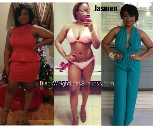 Jasmen Lost 40 Pounds Black Weight Loss Success