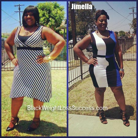 Jimella weight loss before and after