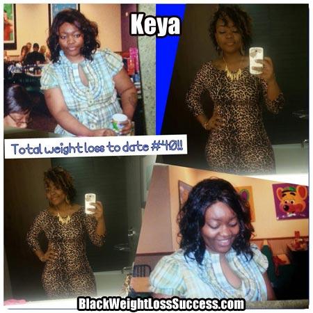 Keya weight loss photos