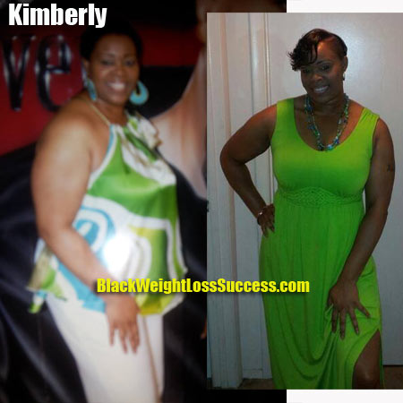 Kimberly weight loss before and after