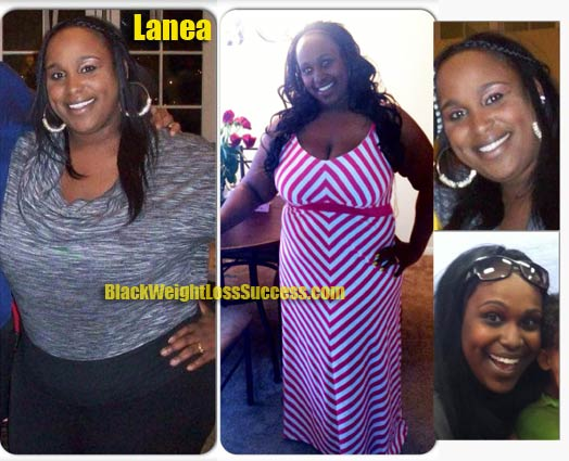 Lanea weight loss before and after