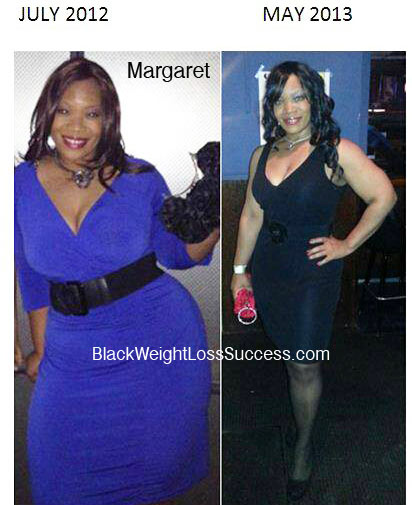 Margaret weight loss before and after
