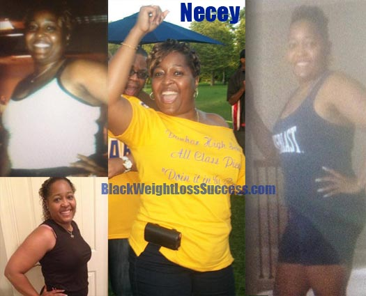 Necey weight loss success