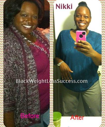 Nikki weight loss success story