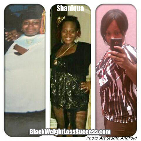 Shaniqua weight loss story
