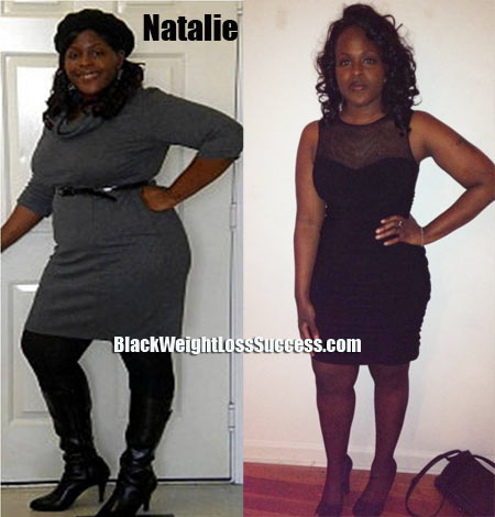 natalie weight loss pictures