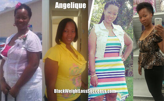 Angelique weight loss story