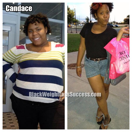 Candace weight loss story