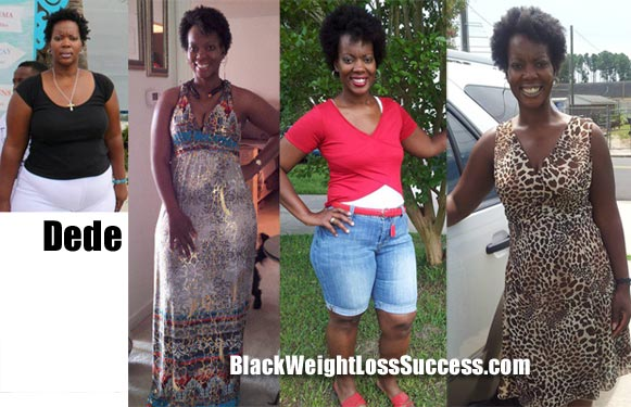 Dede weight loss journey