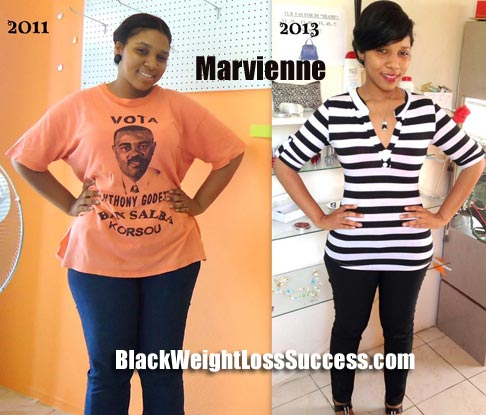 Marvienne weight loss story
