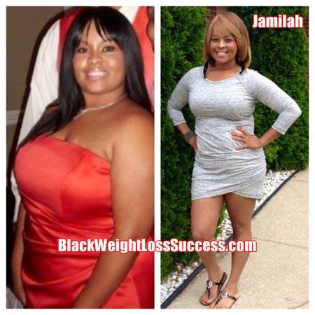 Jamilah weight loss story