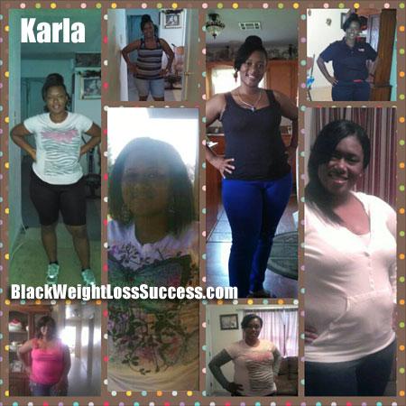 Karla weight loss success