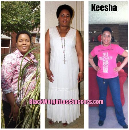 Keesha weight loss story