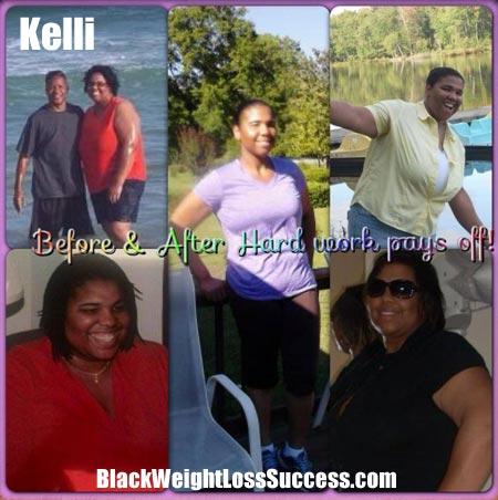 Kelli weight loss success