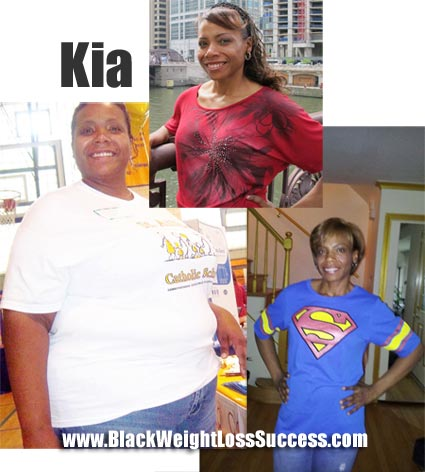 Kia weight loss story