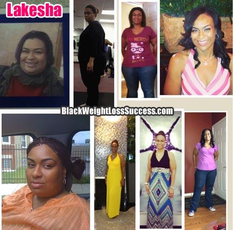 Lakesha weight loss story
