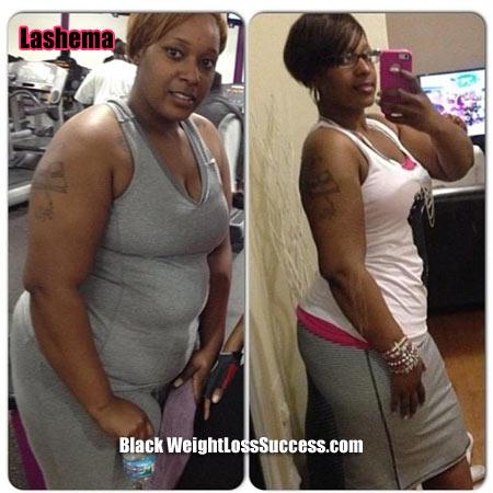 Lashema weight loss story