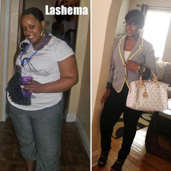 Lashema weight loss