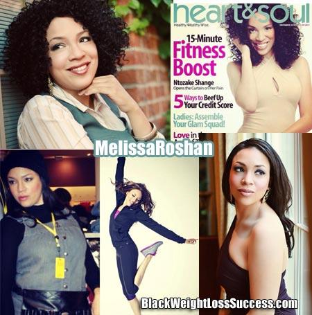 MelissaRoshan weight loss story
