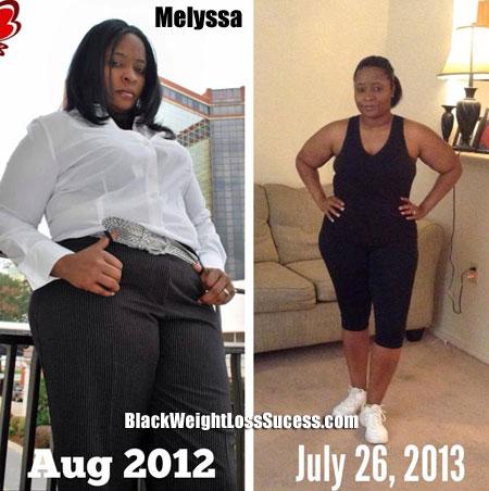 Melyssa weight loss story