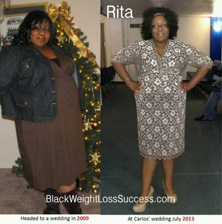 Rita weight loss success