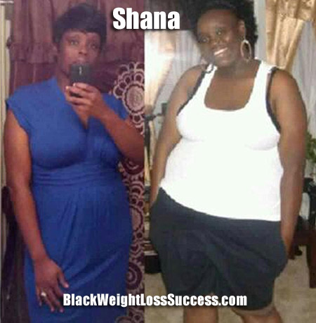 Shana weight loss story