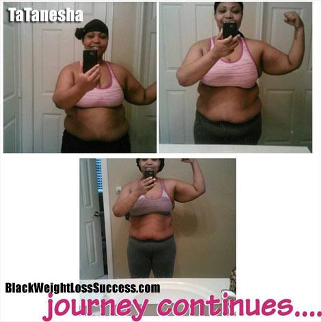 TaTanesha weight loss