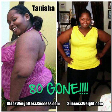 Tanisha weight loss