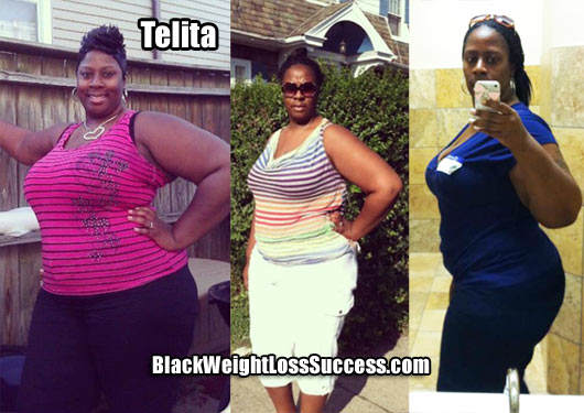 Telita weight loss story