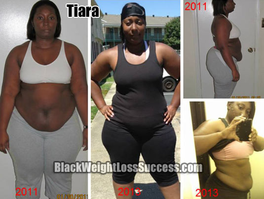 Tiara Lost 31 Pounds Black Weight Loss Success