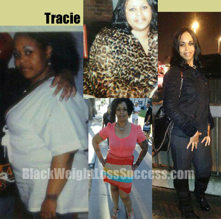 Tracie weight loss before and after