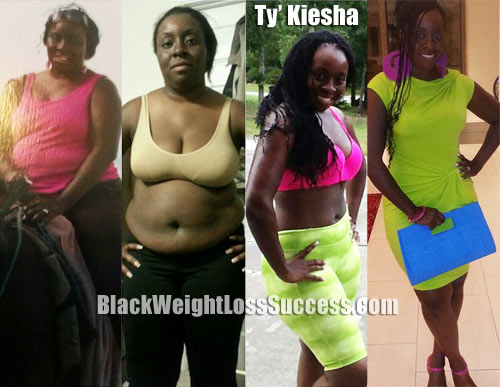 TyKiesha weight loss story