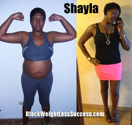 shayla weight loss story