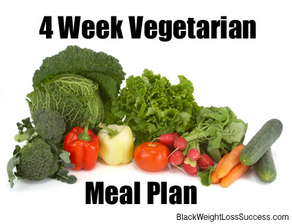 Free Vegetarian Meal Plan - Recipes for Week 1 | Black Weight Loss Success