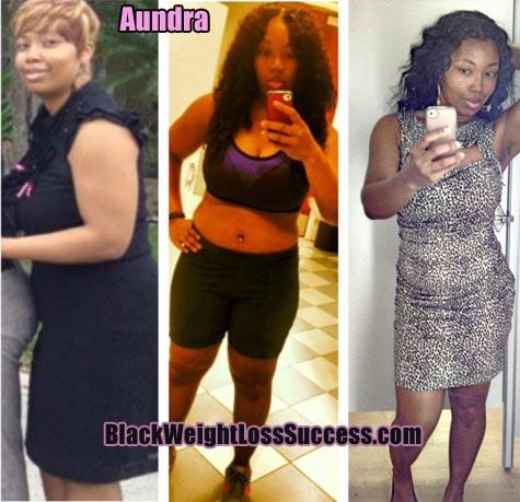 Aundra weight loss