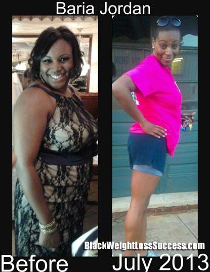 Baria Jordan weight loss