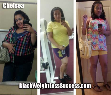 Chelsea weight loss journey
