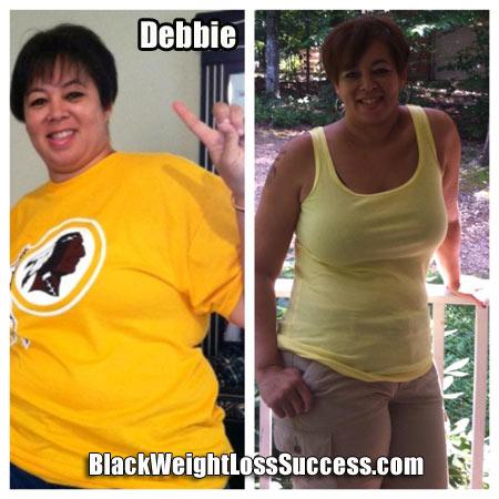 Debbie weight loss