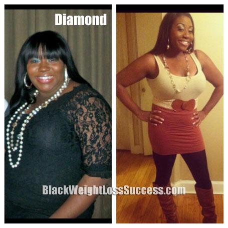 Diamond weight loss story