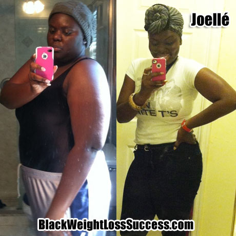 Joelle weight loss photos