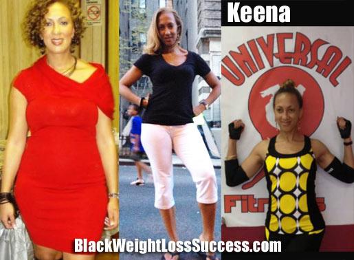 Keena weight loss