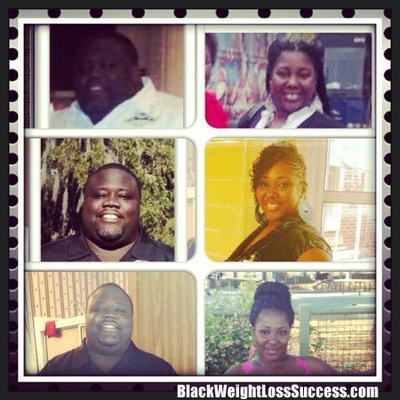 husband and wife weight loss
