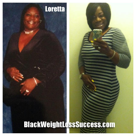 Loretta's weight loss story