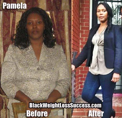 Pamela weight loss photos